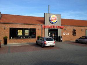 fasade burger king kolding danmark