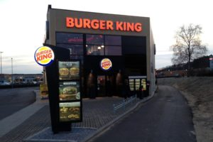 burger king fasade silkeborg danmark